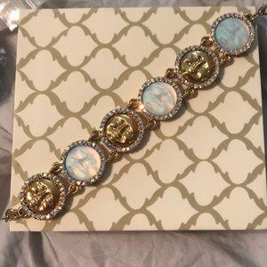 Kirks Folly Jeweled Seaview Moon Bracelet